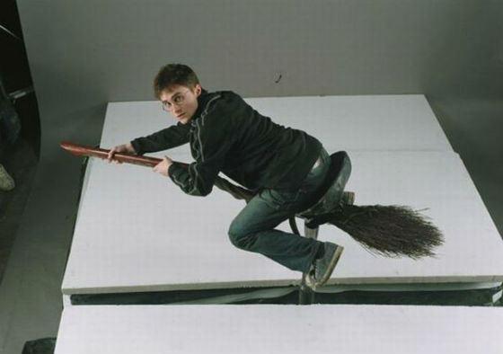 Гарри поттер съемки полетов на метле игра властелин колец 2017 тень мордора