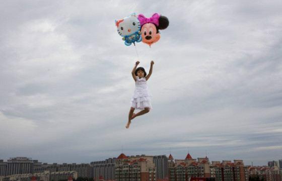8. На воздушных шарах