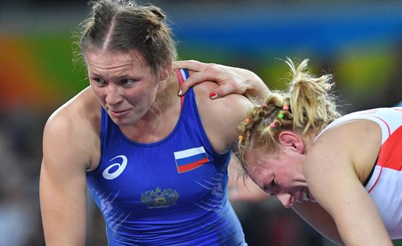 The wrestler Inna Trazhukova claims that she was beaten by the head of the Federal Security Service of Russia.