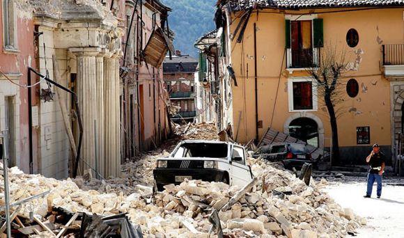 Последствия землетрясения в итальянском Аматриче