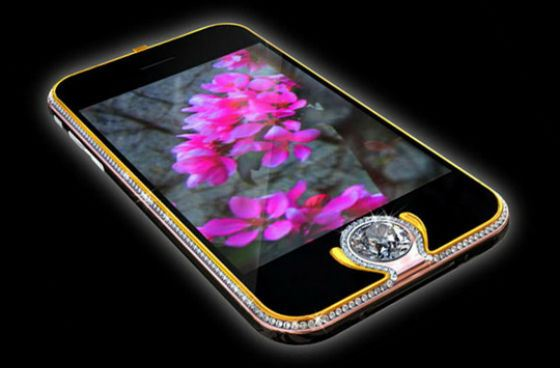 5 ����� � iPhone 3G King's button