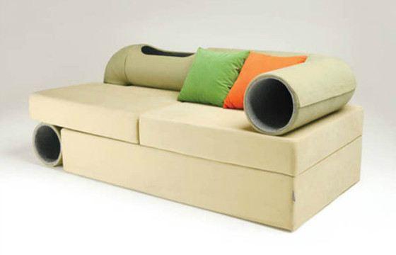Диван Cat Tunnel Sofa от дизайнера Сен Джи Муна