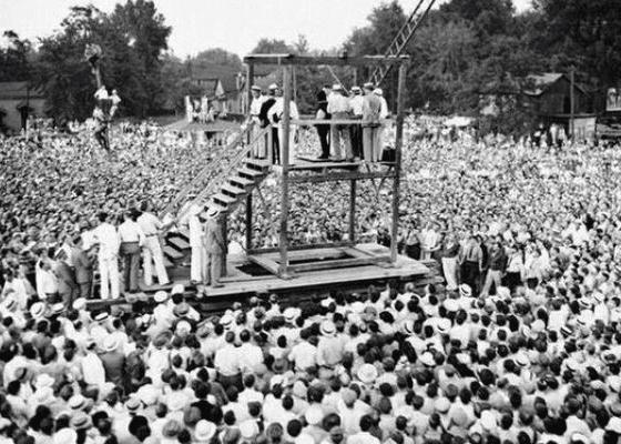 Последняя публичная казнь в Соединенных Штатах Америки, 1936.