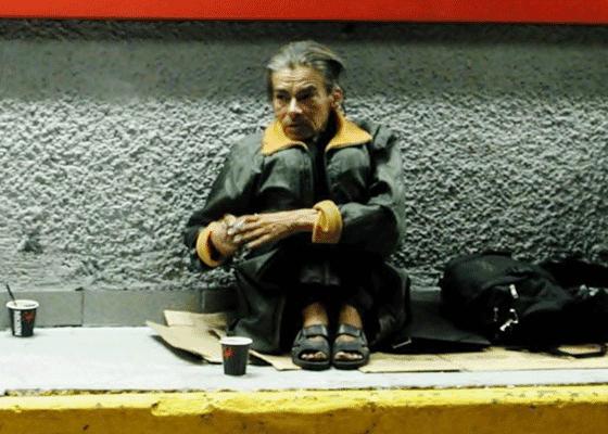 Мехико, Мексика - количество людей живущих на улицах мексиканской столицы от 15000 и 30000 человек