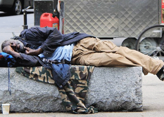 Нью-Йорк - 60 000 бездомных людей. No comments...