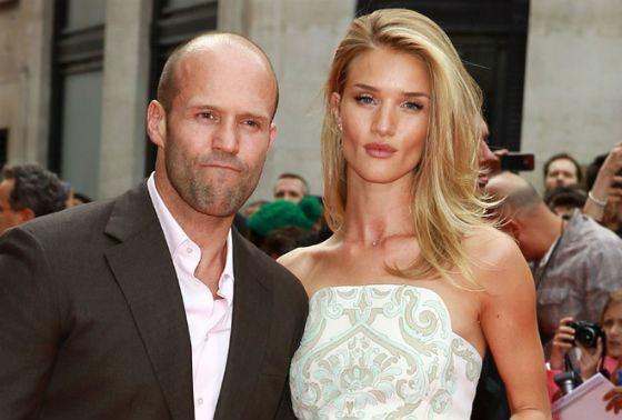 Стэтхэм с женой