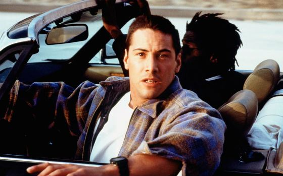 "First action thriller in Keanu Reeves' career (""Speed"", 1994)"