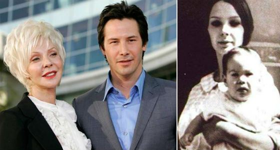 Keanu with his mom Patricia Bond-Reeves