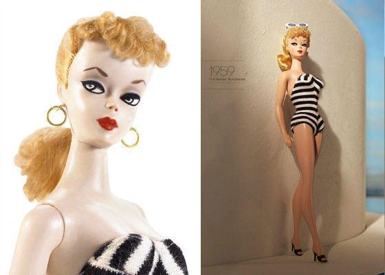 Барби в купальнике. 1959 год
