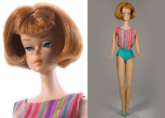Барби с короткой стрижкой. 1965 год