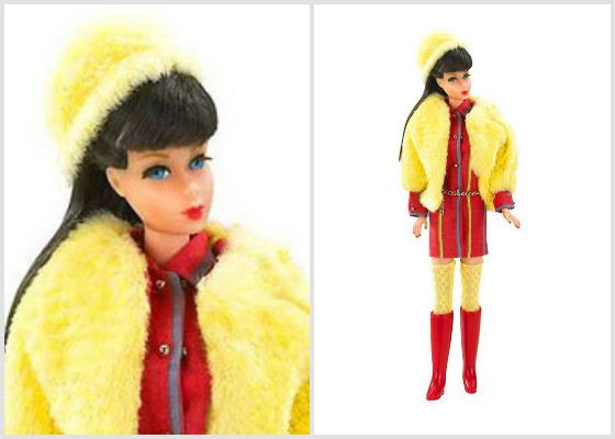 Барби научилась поворачиваться в талии. 1967 год