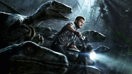 """In """"The World of the Jurassic Period,"""" Chris Pratt rescued everyone from angry dinosaurs."""