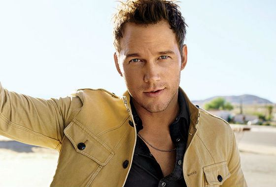 Now Chris Pratt is also a model.