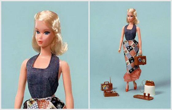 Занятая Барби. 1972 год