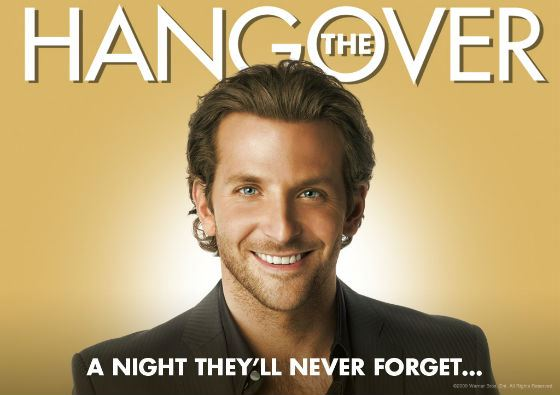 After The Bachelor Party in Vegas, Bradley Cooper became one of the most relevant actors.