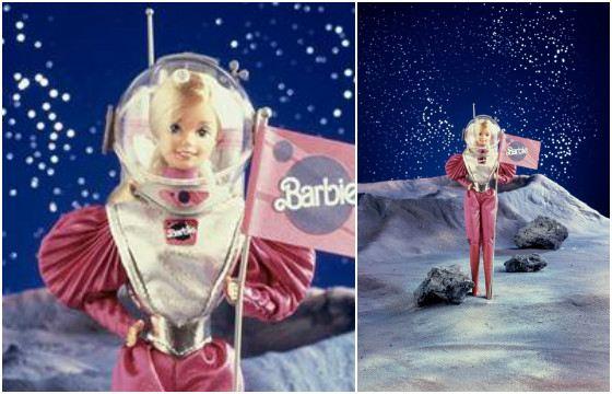 Барби «Покорительница космоса». 1986 год