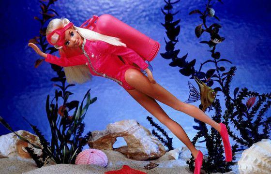 Барби  «Аквалангистка». 1994 год