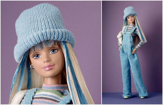 Барби в голубом.1998 год