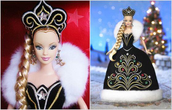 Праздничная Барби дизайнера Боба Маки. 2006