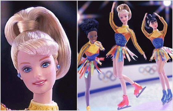 Барби «Фигуристка». 2002