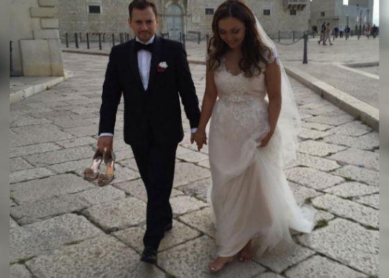 Wedding photo of Andrey Gaidulian and Diana Ochilova