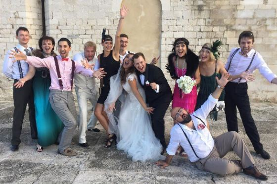 Weddings held in the Italian city of Trani