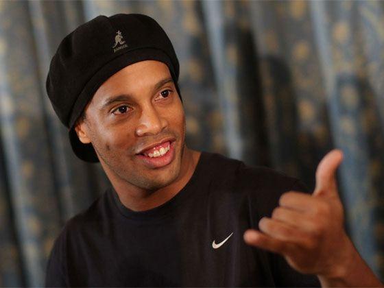 Pictured: Ronaldinho