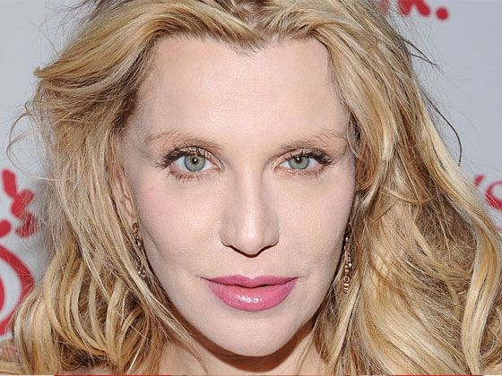 Pictured: Courtney Love