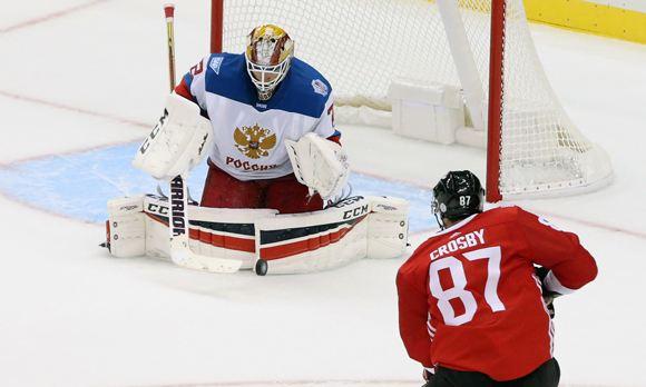 Сборная России по хоккею проиграла канадцам в выставочной игре