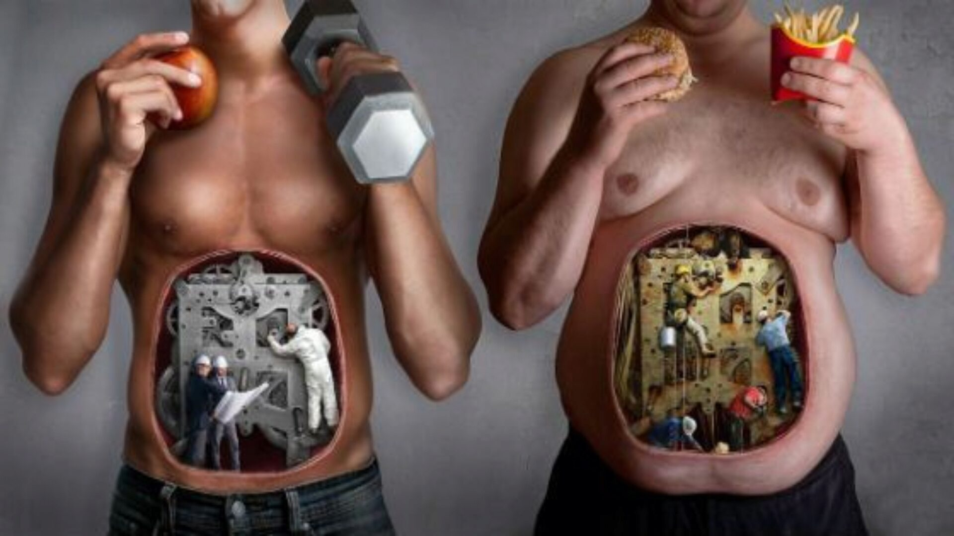 The health of the stomach depends on lifestyle.