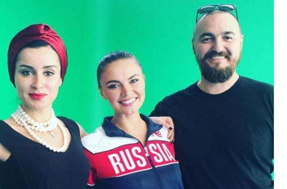 Алина Кабаева и Тина Канделаки