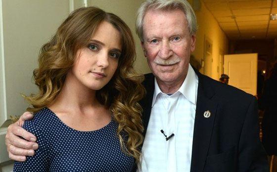Иван Краско с молодой женой