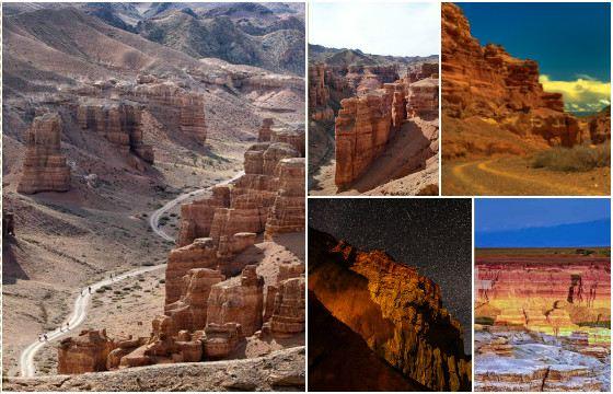 Чарынский каньон — памятник природы, возраст которого составляет около 12 млн лет