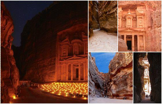 Древний город Петра находится в каньоне Сик (Аль Сик)
