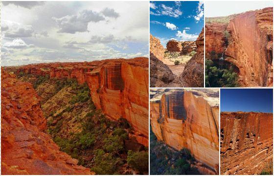 Королевский каньон - красивое, но суровое место