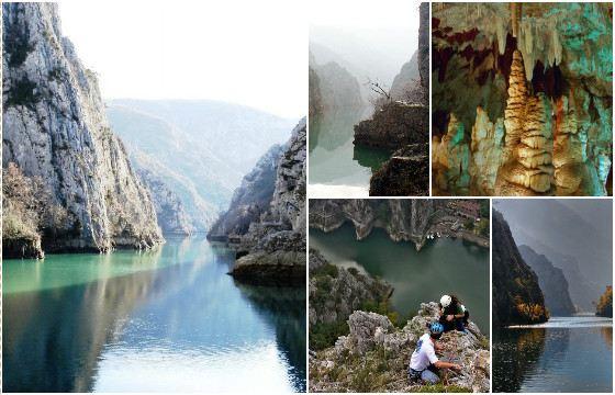 В каньоне расположено несколько средневековых монастырей