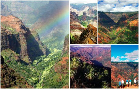 Каньон Ваймеа удивляет красотой пейзажей