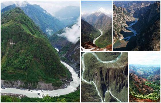 Реку Ярлунг-Цангпо в Индии называют Брахмапутра
