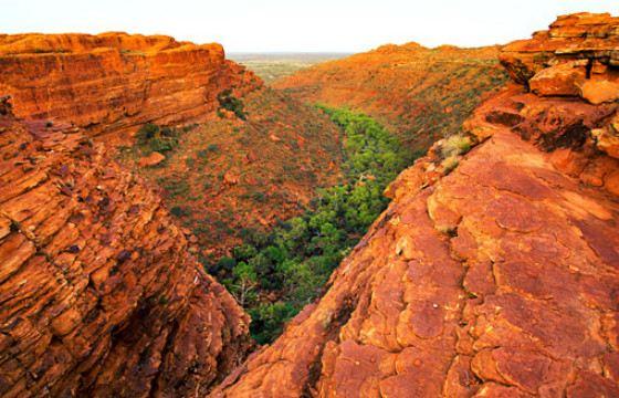 Королевский каньон не редко посещают туристы