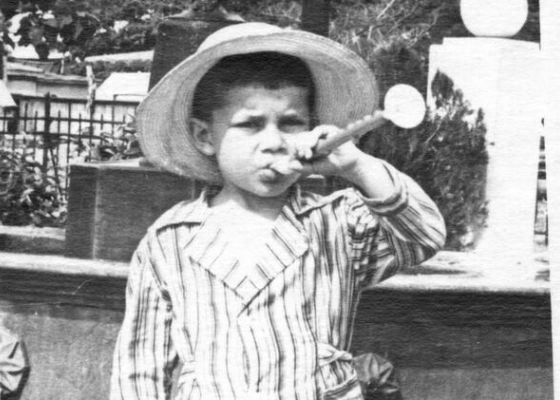 Children's photo of Oleg Gazmanov