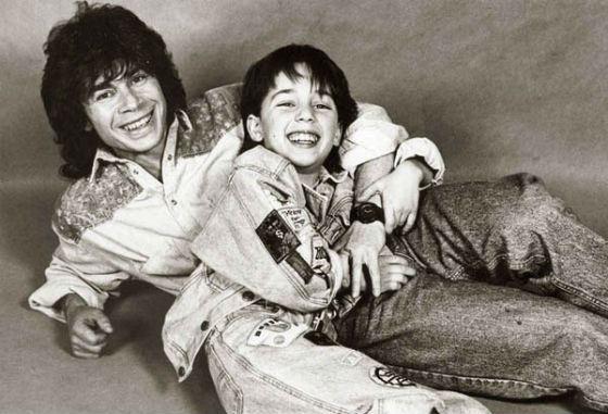 Oleg and Rodion Gazmanovs - father and son