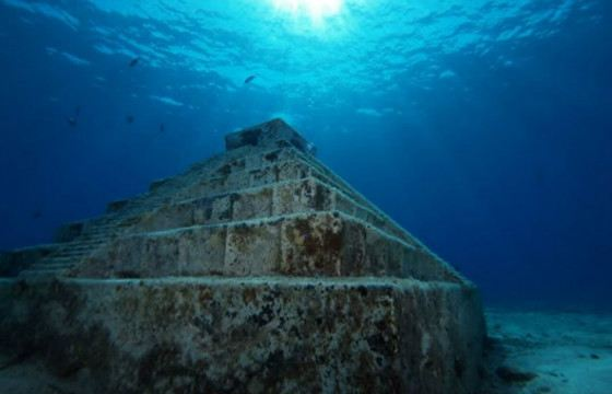 Only scuba divers will be able to see the city of Yonaguni