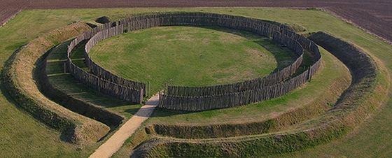 Gosek circle after restoration