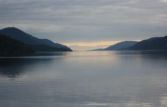 Loch Ness - freshwater lake, 36 km long