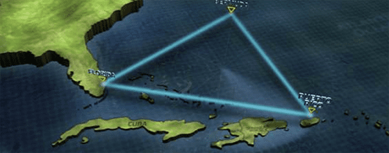 The Bermuda Triangle is considered one of the anomalous zones.