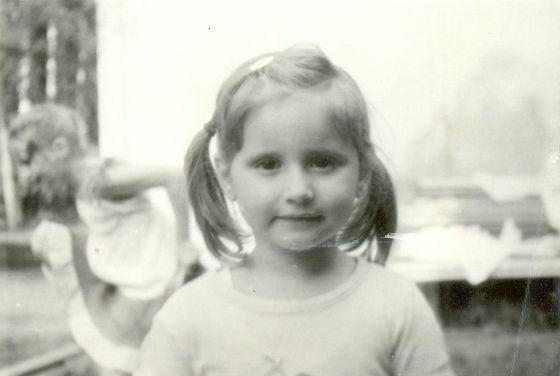 Так выглядела Вета Лобода на детстве