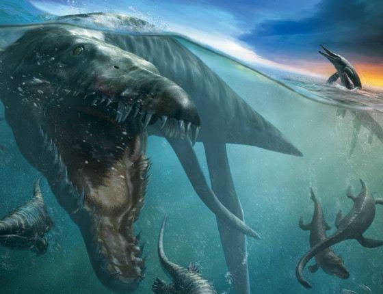 О монстрах морских глубин есть много легенд