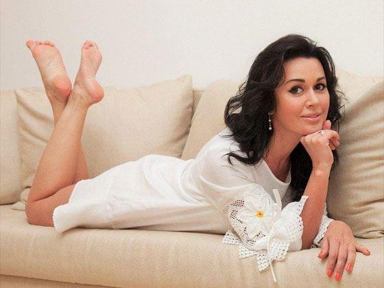 In the photo: Anastasia Zavorotnyuk