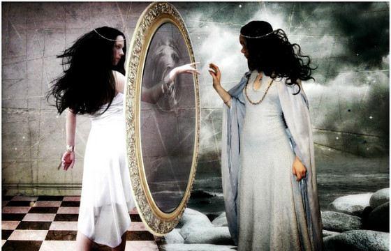 В зеркало нужно смотреться в хорошем настроении