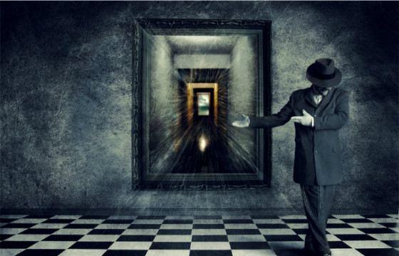 Мистики верят, что в зазеркалье хранятся все тайны